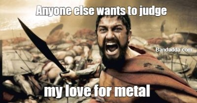 Metalheads get in @mikhail #metal #love