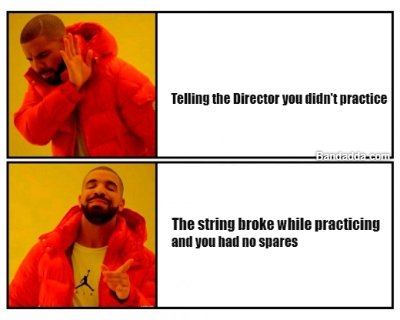 Stringed instrument players get in #excuses #director #practices Mikhail