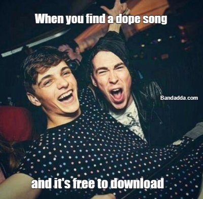 People who don't torrent get in #dj #music #free #pirate