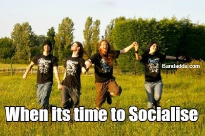 Can we be friends? #metal #meatlheads #socialise #scared #so